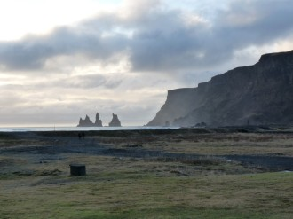 Vik on south coast of Iceland