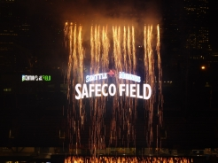 Fireworks at Safeco Field, Seattle