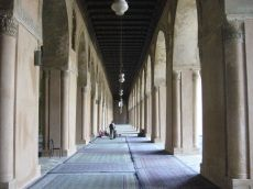 Mosque of Ibn Tulun, the oldest mosque in Egypt